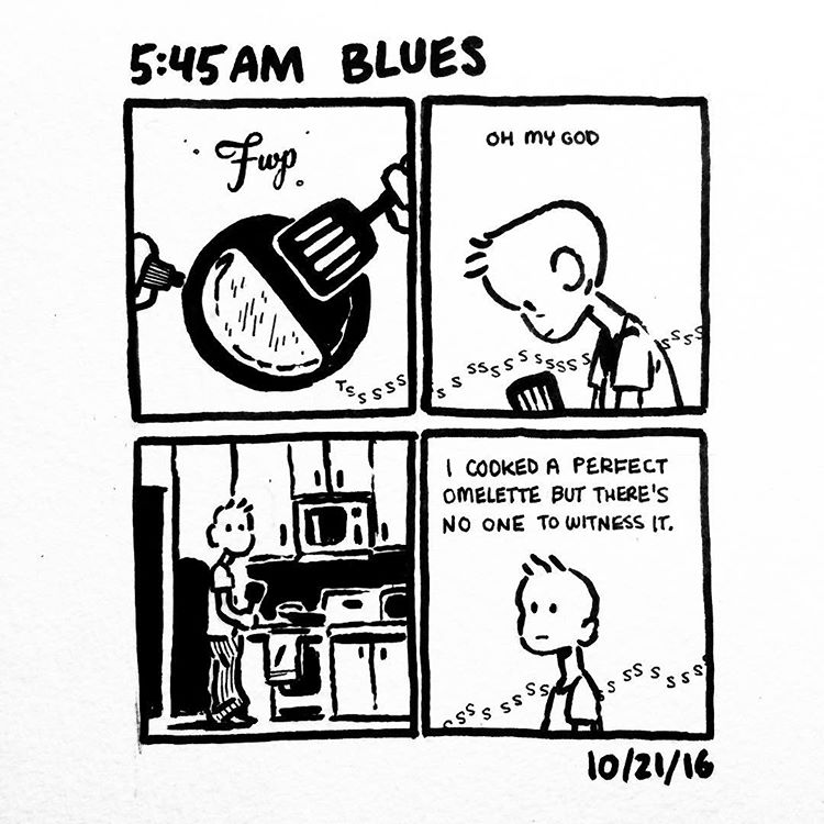 Inktober 2016: Blues